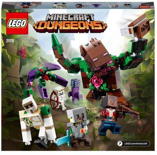 LEGO Minecraft 21176 Pošast iz džungle