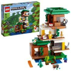 LEGO Minecraft 21174 Nowoczesny domek na drzewie