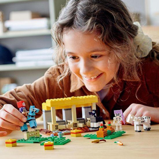 LEGO Minecraft 21171 Konjski hlev