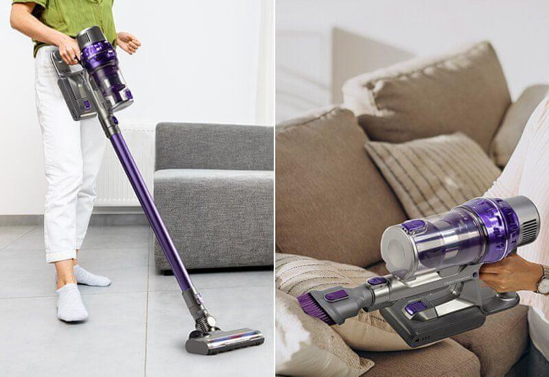 Očistite svoj dom od tal do stropa, s samo 1 napravo!