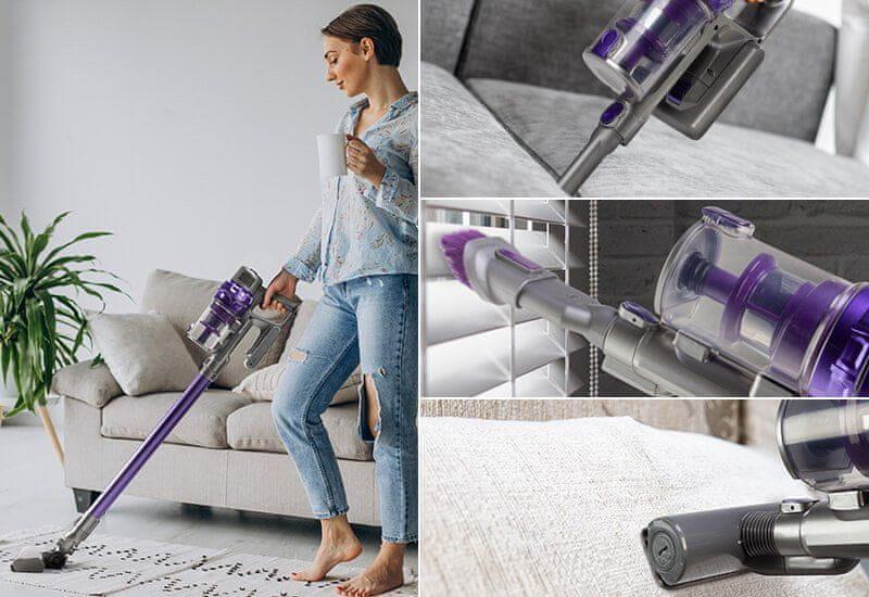 2 dodatna nastavka za popolni napad na prah in umazanijo v vašem domu