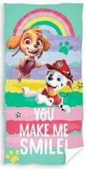 Tip Trade ręcznik dziecięcy Psi Patrol Tęczowe łapy