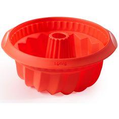 Lékué Silikonová pečicí forma na bábovku 22 cm Lekue | červená