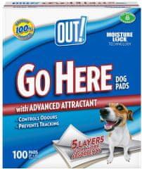 OUT! hygienické podložky 100ks
