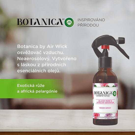 Air wick Botanica by Air Wick osvježivač zraka u spreju Egzotična ruža i afrička geranija, 237 ml