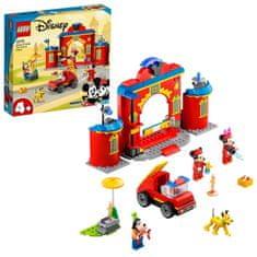 LEGO Disney Mickey and Friends 10776 Mickey és barátai tűzoltóállomás és autó