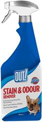 OUT! odstraňovač zápachu a nečistôt 750ml