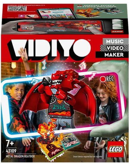 LEGO igra VIDIYO 43109 Metal Dragon BeatBox