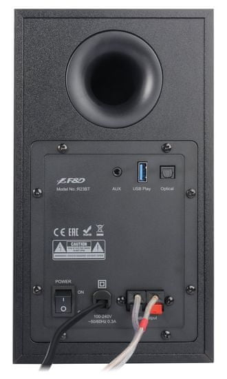 Fenda zestaw głośników F&D R23BT (R23BT (black)