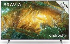 Sony KE55XH8077SAEP Smart LED Televízió, 139 cm, 4K Ultra HD, Android, Ezüst