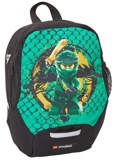 LEGO šolski nahrbtnik Ninjago Green