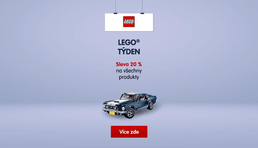 TÝDEN SLEV SE ZNAČKOU LEGO®