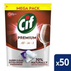 Cif Premium Regular Kapsle do myčky nádobí 50 ks