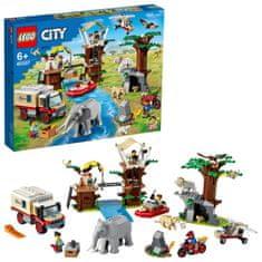 City 60307 Obóz ratowników dzikich zwierząt
