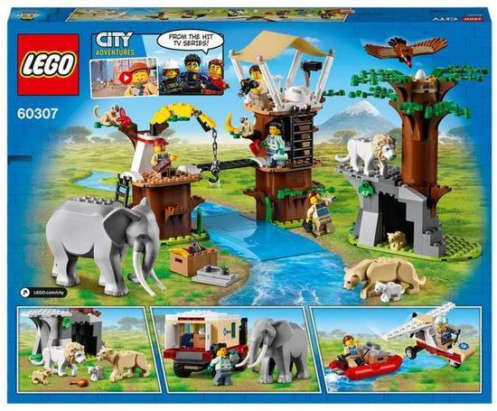 LEGO City 60307 Reševalni kamp v divjini