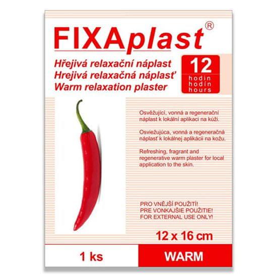 Fixaplast Kapsaicínová hrejivá náplasť WARM 12 x 16 cm 1 ks