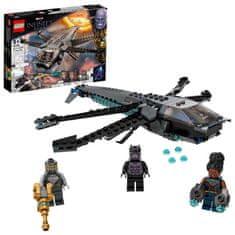 LEGO Marvel Avengers 76186 Črni panter in zmajevo letalo