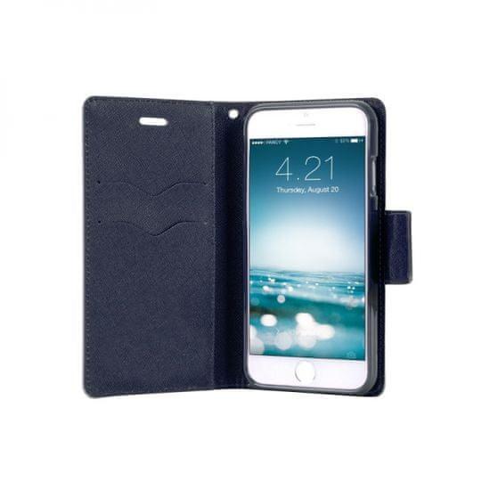 Havana Fancy Diary maskica za Samsung Galaxy S21 Plus G996, preklopna, meta-plava