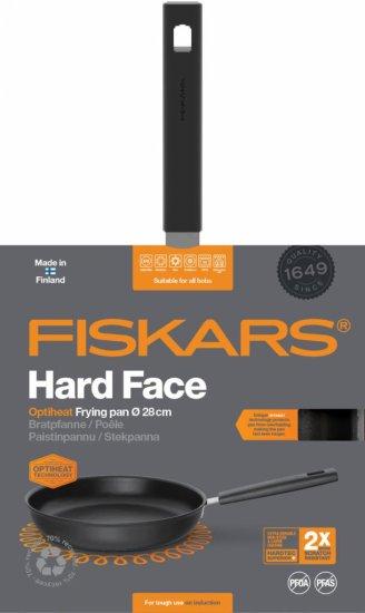 Fiskars tava Hard Face Optiheat, 28 cm