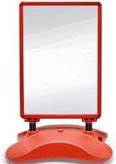 shumee Reklámállvány POST03 Piros 635 x 1150 x 350 mm