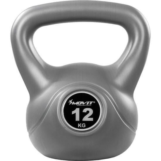 shumee Kettlebell MOVIT® - 12 kg szürke