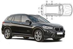 PrivacyShades Slnečné clony na okná - BMW X1 (2015-) - Komplet sada
