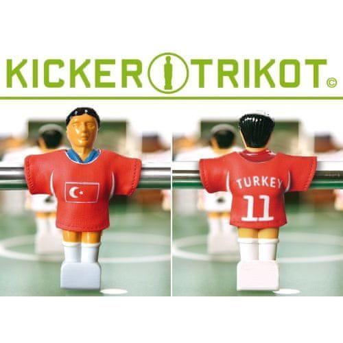 shumee Náhradné futbalové dresy Turecka 11 ks