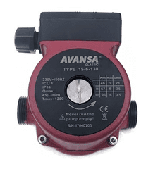 Avansa 15-60/130 - Oběhové čerpadlo