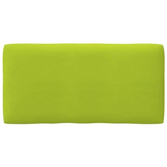 shumee élénkzöld raklapkanapé-párna 80 x 40 x 12 cm