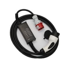 BACHTEC Chytrý nabíjecí kabel Typ 2/CEE 16A 5p - 11kW - 5m