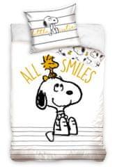 Carbotex Dětské povlečení Snoopy All Smiles
