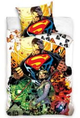 Carbotex Dětské povlečení Superman Bad Day
