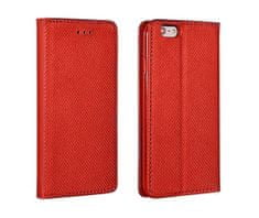 Havana magnetna preklopna torbica za Huawei P Smart 2021, rdeča