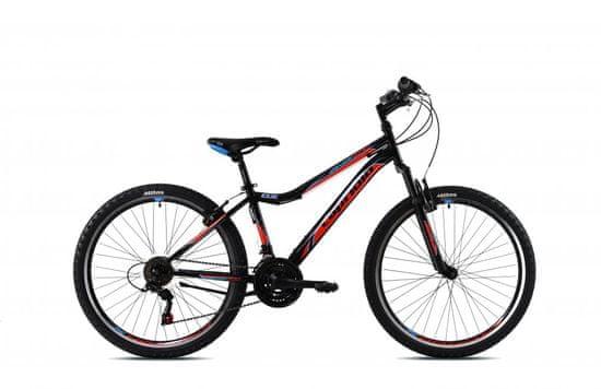Capriolo Diavolo DX FS 600 brdski bicikl, 26/18 HT, crno-crveni