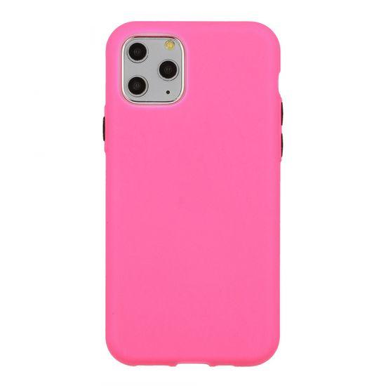 Neon ovitek za iPhone SE 2020/7/8, silikonski, pink