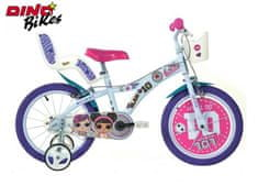 """Dino bikes rower dziecięcy L.O.L. SURPRISE 16"""""""