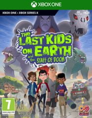 Namco Bandai Games The Last Kids On Earth and The Staff Of Doom igra (Xbox One in Xbox Series X)