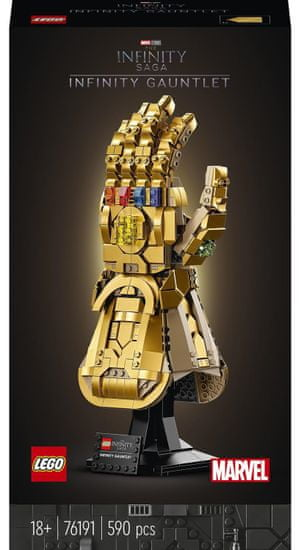 LEGO Marvel Avengers 76191 Rękawica Nieskończoności