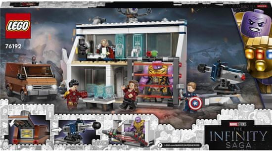 LEGO Marvel Avengers 76192 Avengers: Endgame - Végjáték