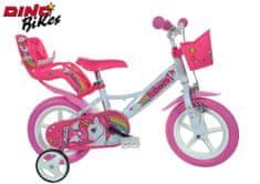 """Dino bikes Dětské kolo Jednorožec 12"""""""