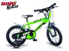 """Dino bikes Dětské kolo zelené 16"""""""