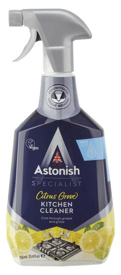Astonish čistilo za odstranjevanje madežev in maščobe v kuhinji