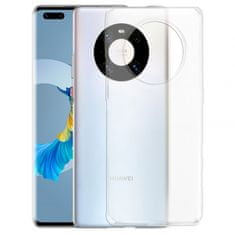 Ultra tanek silikonski ovitek za Huawei Mate 40 Pro, prozoren
