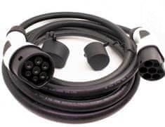 EV Expert DUOSIDA nabíjecí kabel TYP 2   32A   1fáze   7,4kW   5m