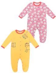 WINKIKI Cats WNG11954-328 pidžama za djevojčice, 2 komada, 62, šarena