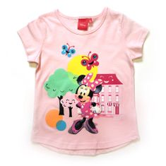 "SETINO Dekliška majica ""Minnie Mouse"" - roza - 122 / 6–7 let"