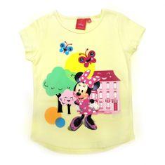 "SETINO Dekliška majica ""Minnie Mouse"" - rumena - 122 / 6–7 let"