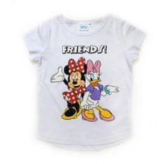 "SETINO Dekliška majica ""Minnie Mouse"" - bela - 122 / 6–7 let"