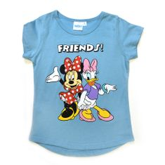 "SETINO Dekliška majica ""Minnie Mouse"" - modra - 128 / 7–8 let"