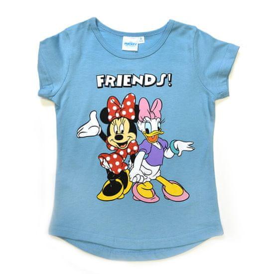 "SETINO Dekliška majica ""Minnie Mouse"" - modra"